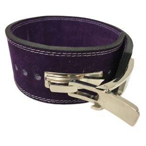 Purple lever powerlift belt