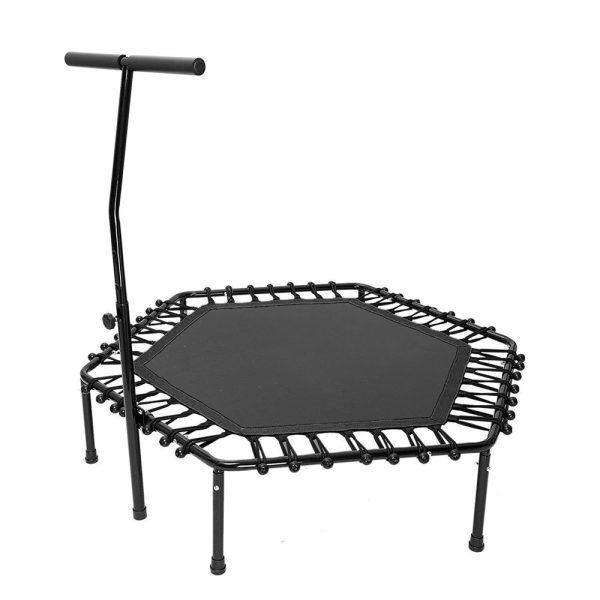 Mini trampoline med håndtak