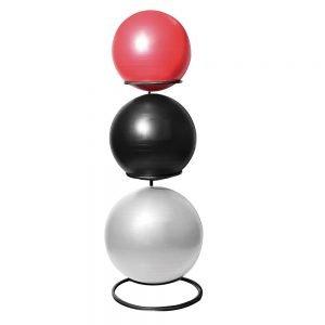 Oppbevaringsstativ til fitnessballer