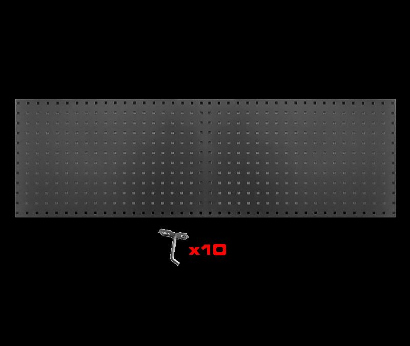 Oppbevaringstavle til trekkstenger 150*45*1,5cm