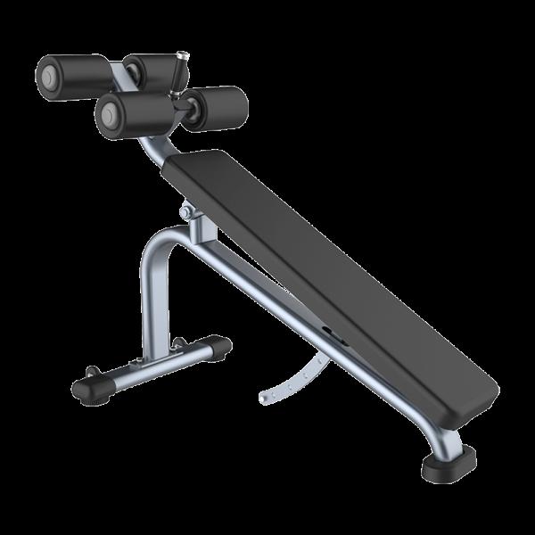 OCM Sit-ups benk / Magebrett - OCM Performance Line Adjustable Decline Bench