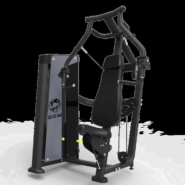 Benkpressmaskin med uavhengige pressarmer - OCM Performance Line Converging Chest Press