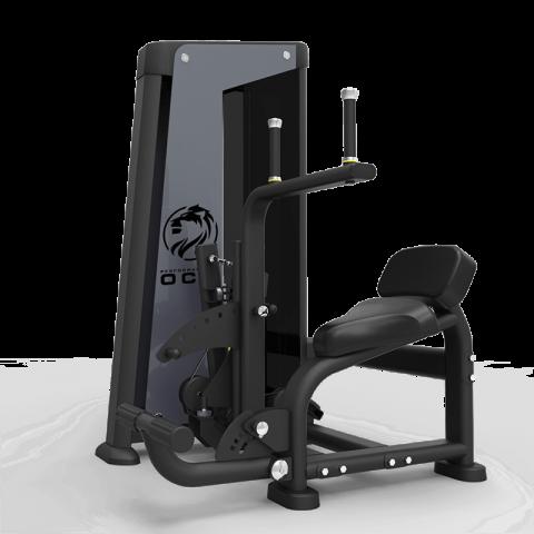 Ryggstrekk + situps maskin - OCM Performance Line Dual Abdominal + Back Extension