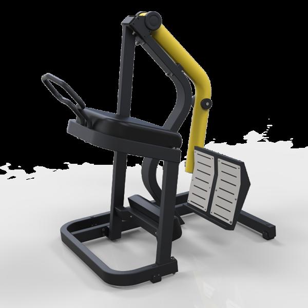 Kick Back freeweight machine - OCM Leverage Line Glute Isolator