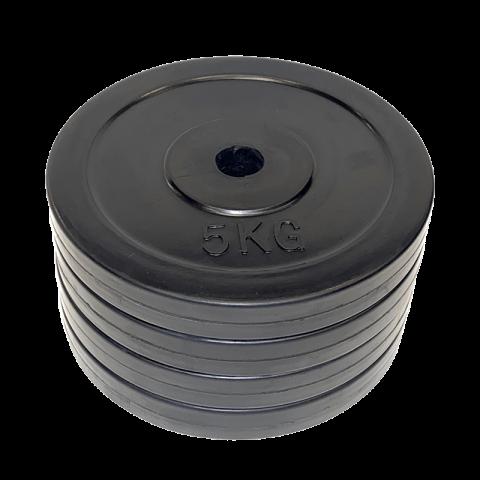 5KG 25mm Gummivektskiver