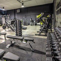 treningsrom bedrift pic